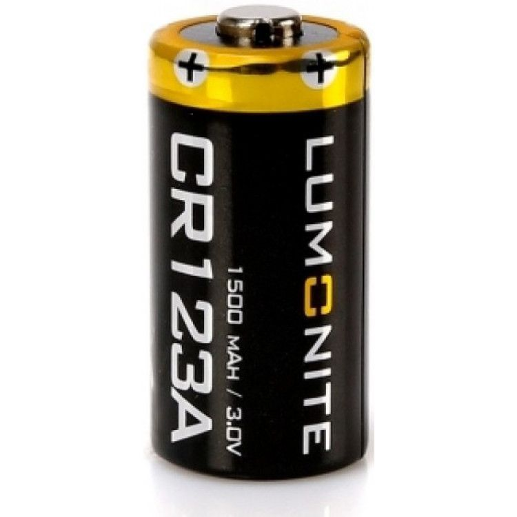 Батарея Lumonite CR123A 1500 mAh